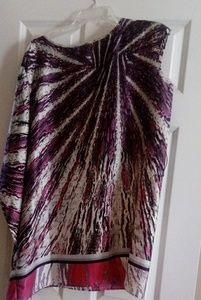 Multi color fashion top